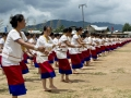 Apatani women Perfoming Daminda Dance on the Dree Day04