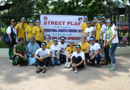 Street plays organized at different places in Guwahati