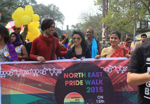 NORTH EAST LGBT PRIDE WALK, 2015