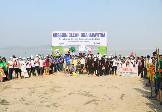 'MISSION CLEAN BRAHMAPUTRA'