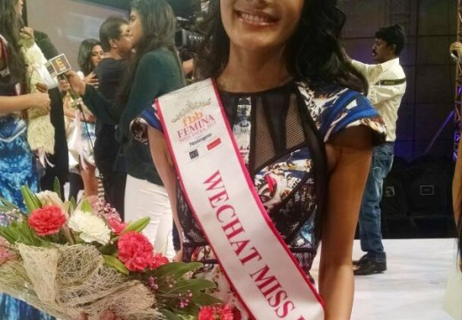 NORTHEAST DAUGHTER AT FEMINA MISS INDIA