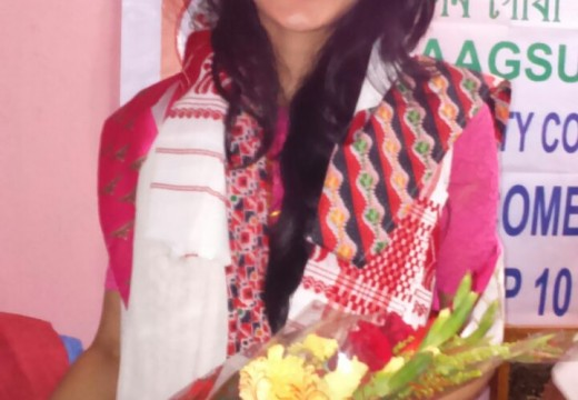 REWATI CHETRI FELICITATED