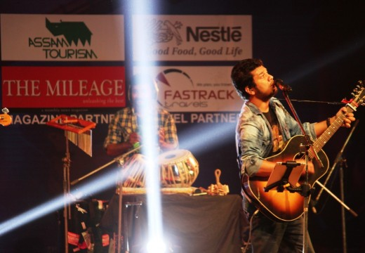 ANGARAAG PAPON MAHANTA PERFORMING DURING MEDIFEST, 2015