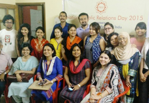 PRSI OBSERVES NATIONAL PR DAY WITH FOCUS ON CSR