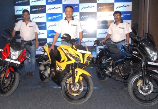 THE NEW AGE BAJAJ PULSAR RANGE LAUNCHED