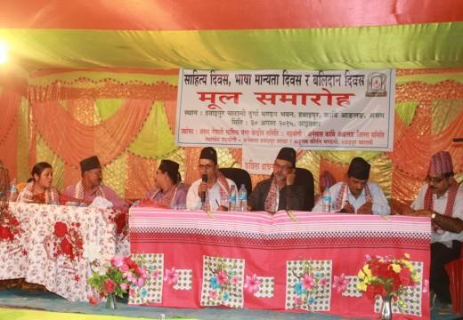 NEPALI LIT FEST AT HAWAIPUR